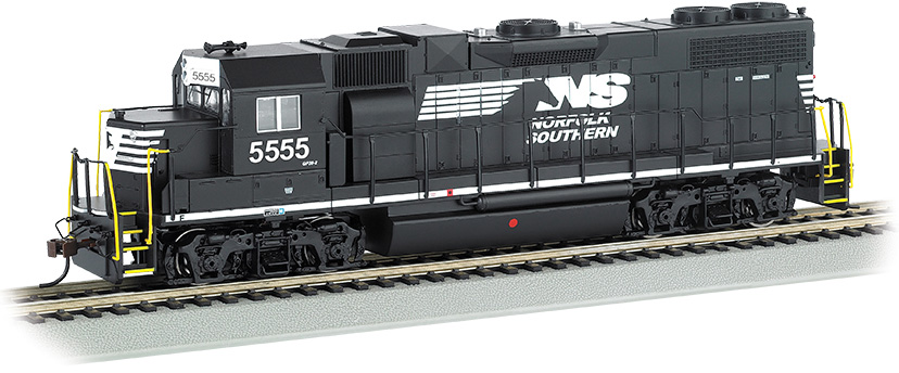 Norfolk Southern #5555 (Thoroughbred) GP38-2-DCC Sound Value(HO)