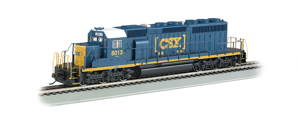 CSX®#8013 (HTM™) - SD40-2 - DCC Sound Value (HO Scale)