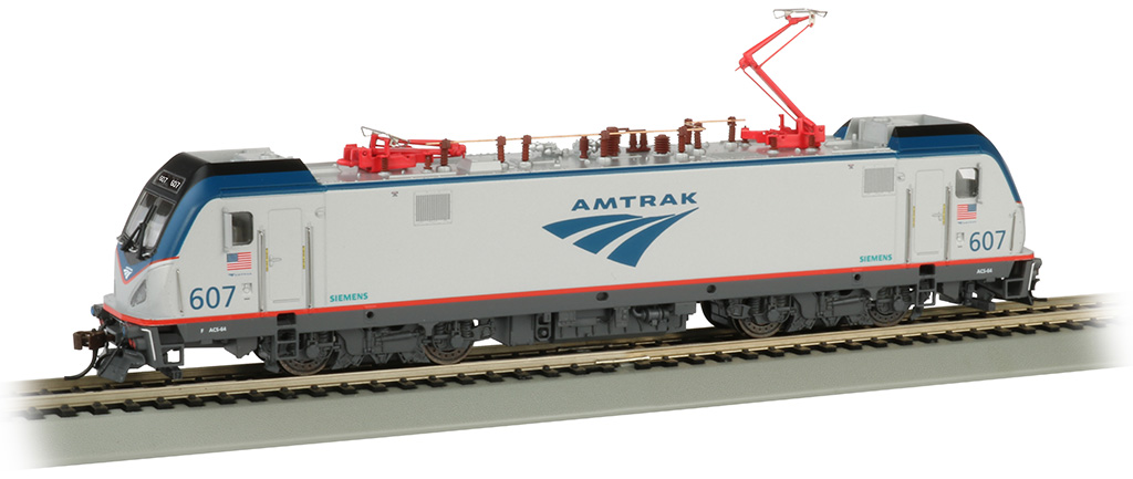 Amtrak #607 - Siemens ACS-64 - DCC Sound
