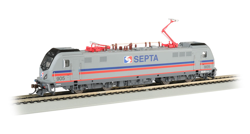 SEPTA 905 - Siemens ACS-64 - DCC Sound