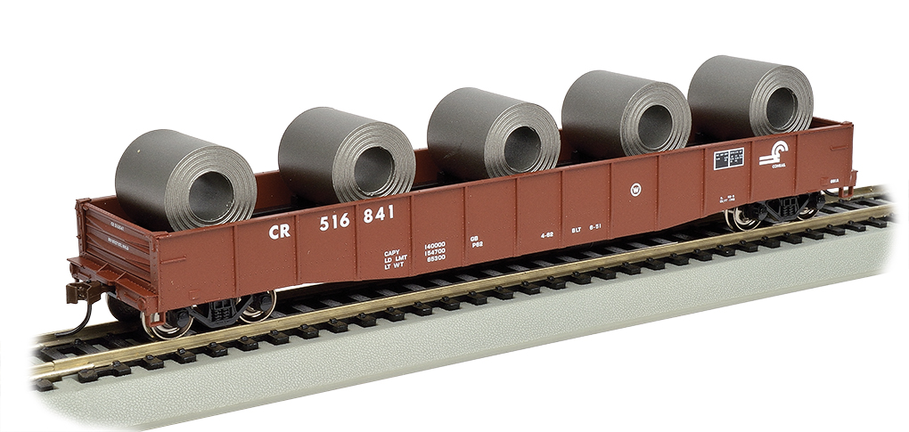 "BAC71909 Bachmann Industries HO 50'6"" Gon w/Ld CR 160-71909"