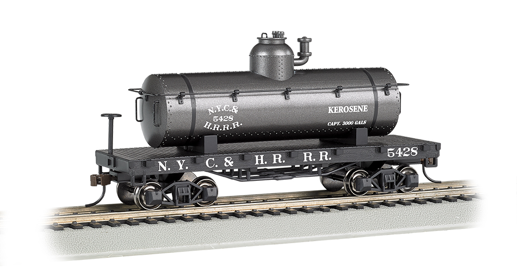 BAC72102 Bachmann Industries HO Old-Time Tank Car NYC 160-72102