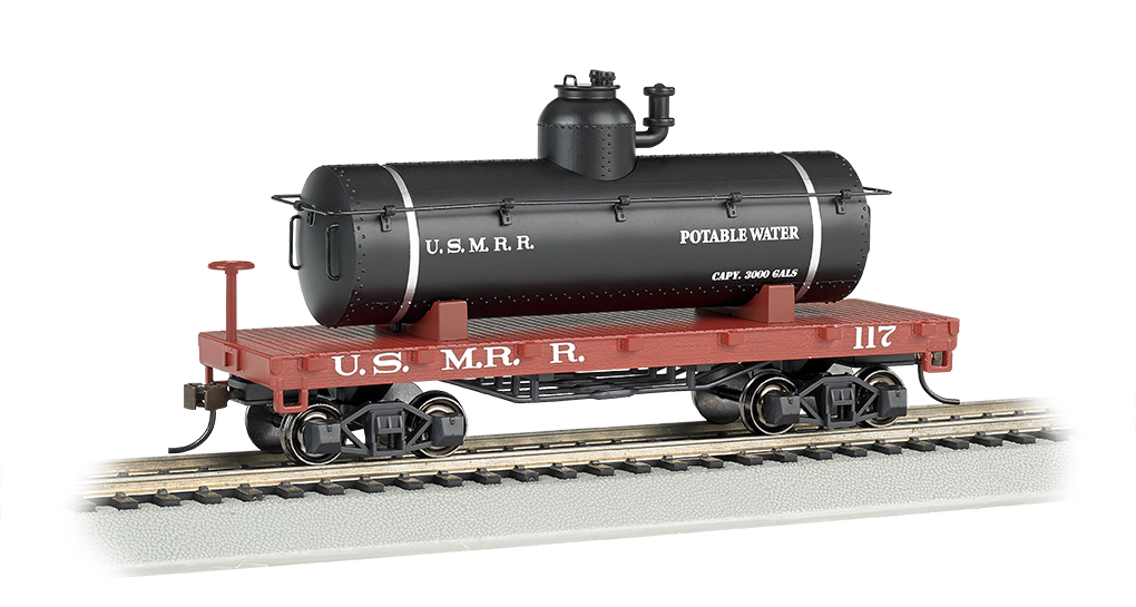 BAC72105 Bachmann Industries HO Old-Time Tank Car USMRR 160-72105