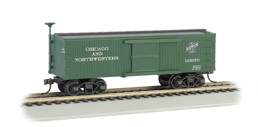 Chicago & North Western® - Old-time Box Car