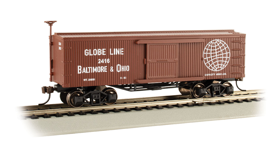 Baltimore & Ohio®- Globe Line - Old-time Box Car