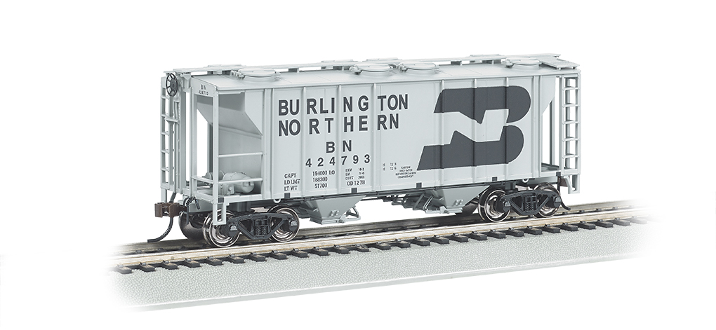 Burlington Northern - PS-2 Covered Hopper