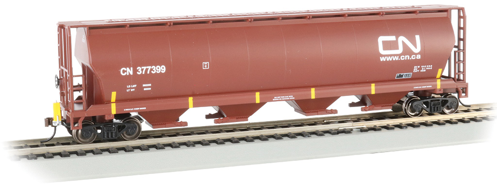 Cylindrical Grain Hopper with FRED - Canadian National