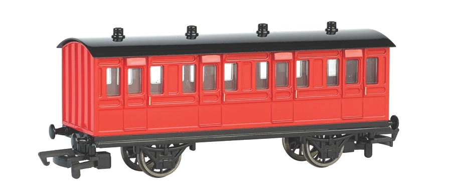 Red Coach (HO Scale)