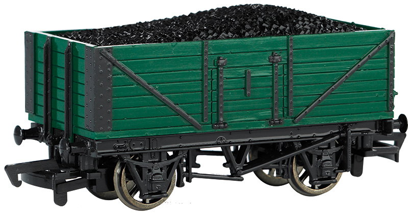 Coal Wagon with Load (HO Scale)