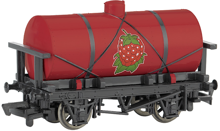 Raspberry Syrup Tanker
