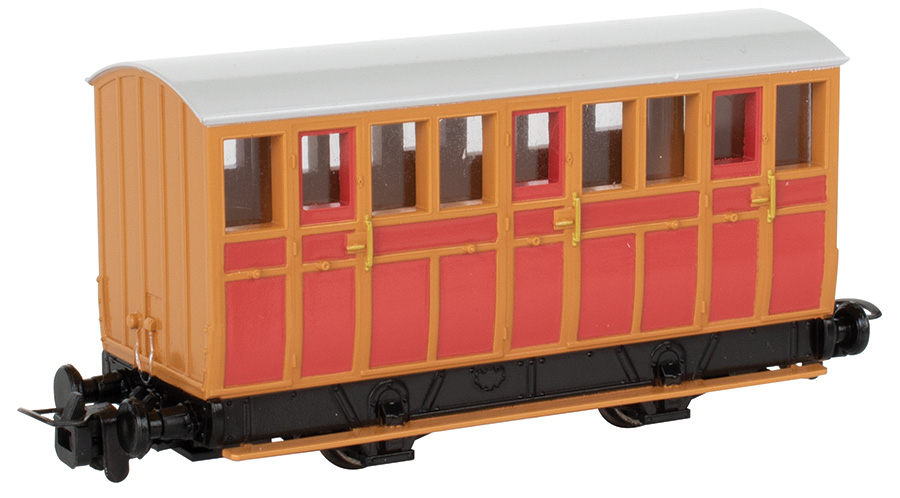 Narrow Gauge Red Carriage (HOn30 Scale)