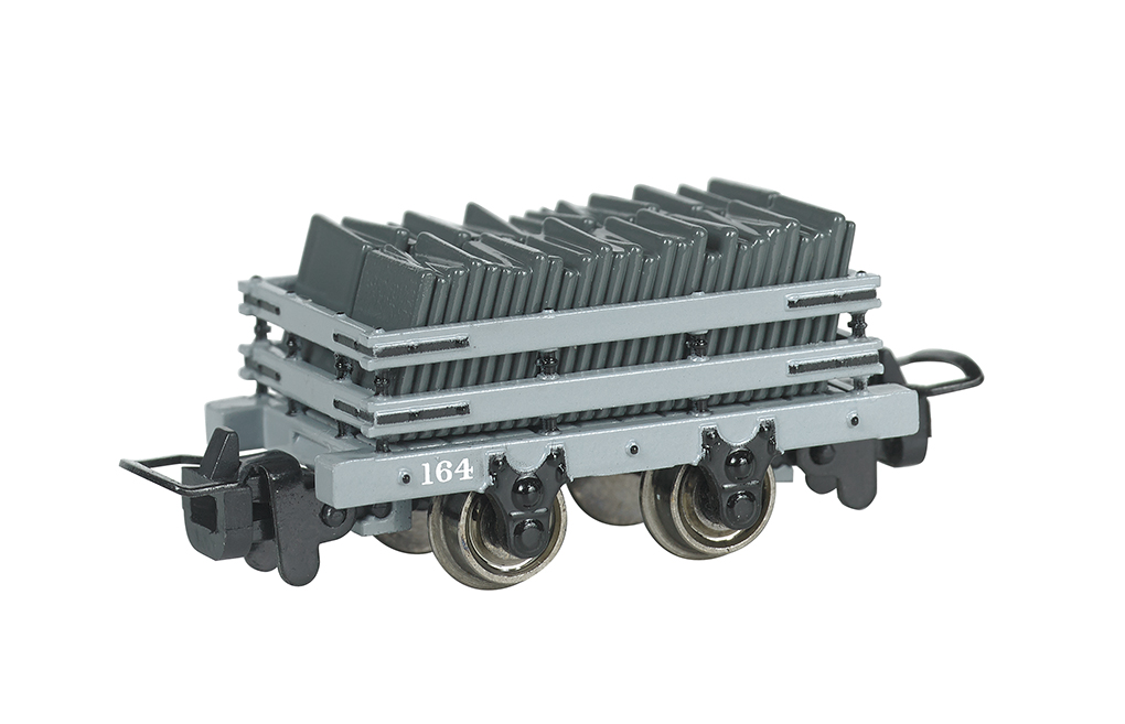 Narrow Gauge Slate Wagon w/ load #164 (HOn30 Scale)
