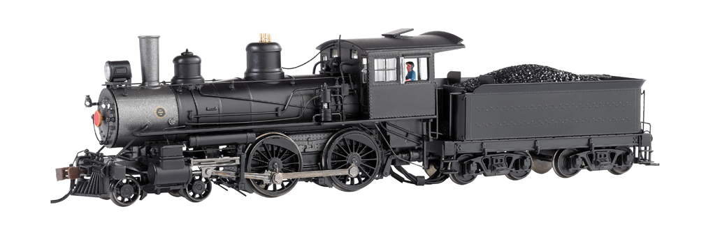 Painted, Unlettered - Baldwin Modern 4-4-0 - DCC (HO Scale)