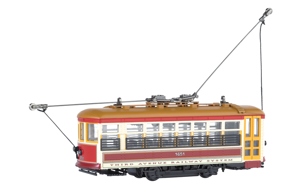 Third Avenue Railway System (NYC)-Birney Streetcar-DCC(HO Scale)