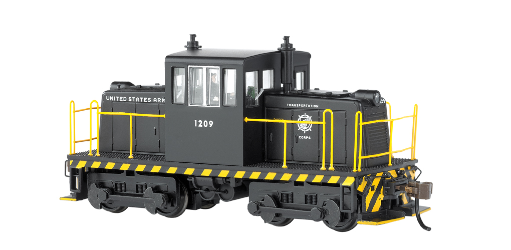 Us Army - GE 45 Ton Switcher - DCC