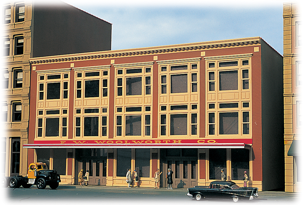 Variety Store - Cityscenes™ Building Kit (HO Scale)