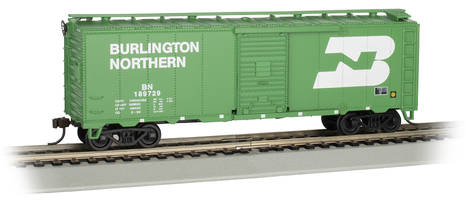 40' Box Car - Burlington Northern (HO Scale)