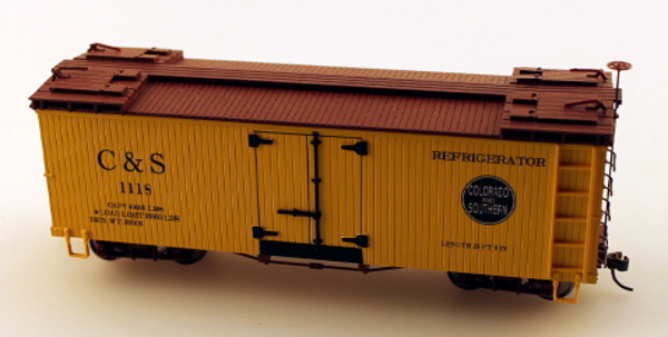 C&S Reefer - Rocky Mountain Express (On30 Scale)