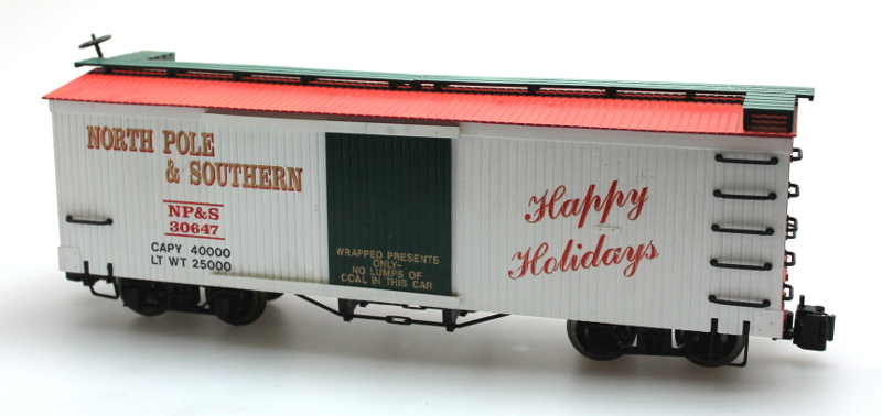 Box Car - North Pole & Southern (Large scale)