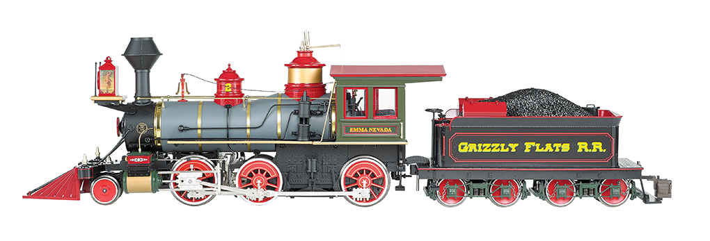 1:20.3 Grizzly Flats (Emma Nevada) - 2-6-0