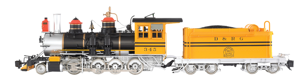 D&RGW™ #345 - Bumble Bee - C-19 w/ Short Tender