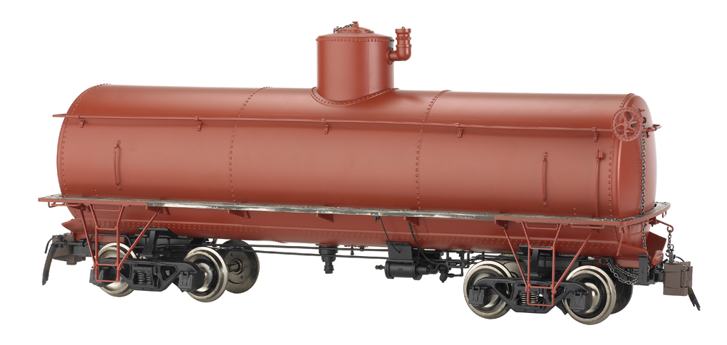 Painted, Unlettered - Oxide Red - Frameless Tank Car