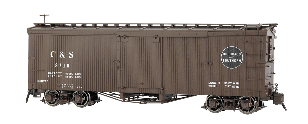Colorado & Southern - Murphy Roof Box Car (Large Scale)