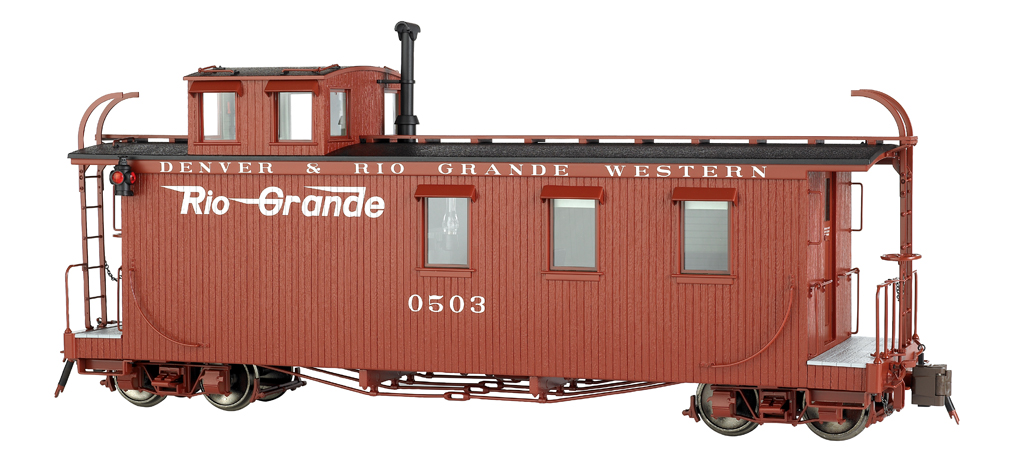 Rio Grande™ - Flying Grande - Long Caboose (Large Scale)