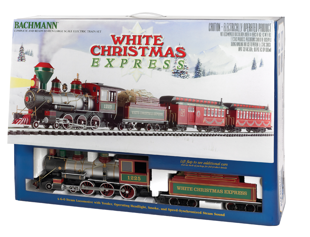 Ho Christmas Train.White Christmas Express 90076 575 00 Bachmann Trains