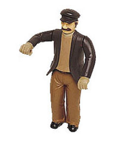Poseable Man with Cap