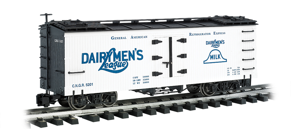 Dairymen's League - Billboard Reefer (Large Scale)