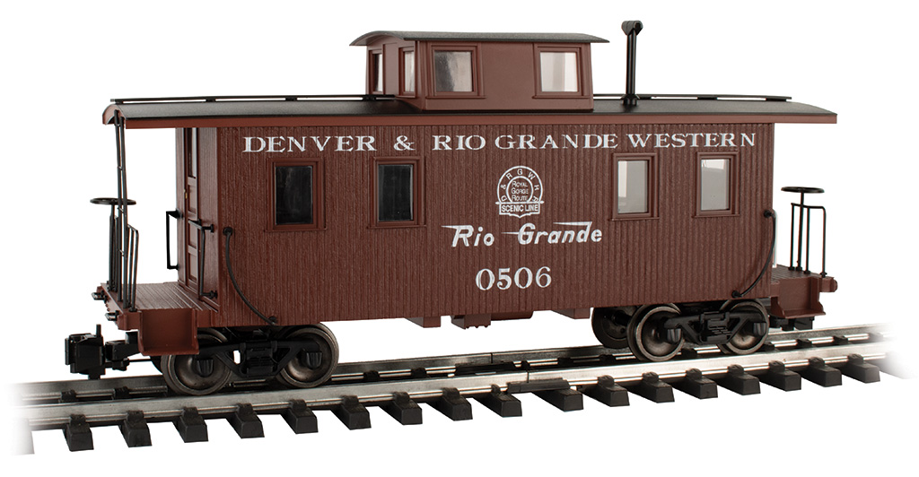 D&RGW™ #0506 - Eight-Wheel Center-Cupola Caboose (LS)