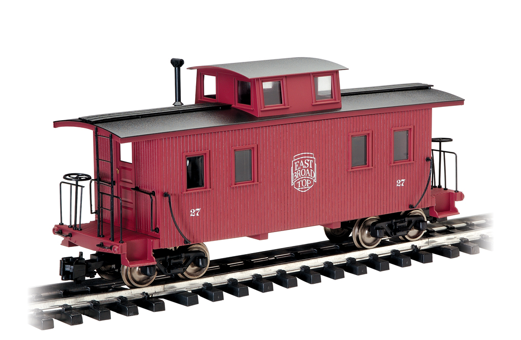 East Broad Top - Eight-Wheel Center Cupola Caboose (Large Scale) - Click Image to Close