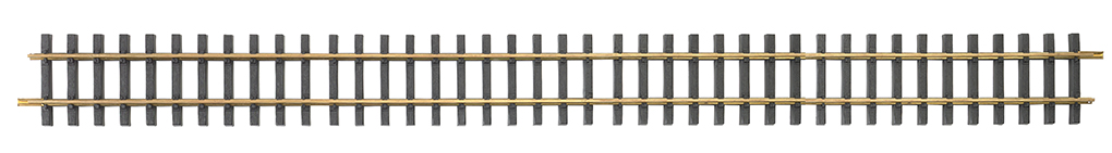 5' Straight 6/Box - Brass Track (Large Scale)
