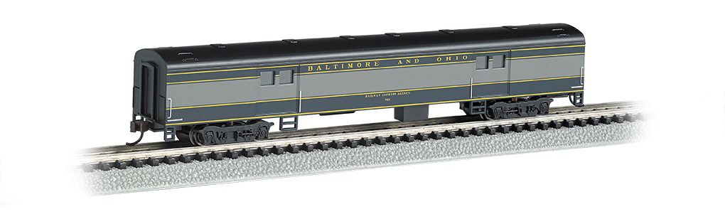 Baltimore & Ohio® - 72ft Smooth-Sided Baggage Car
