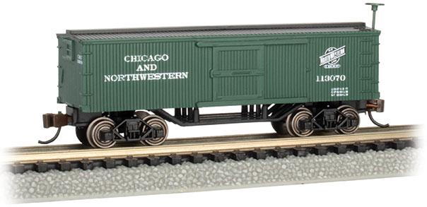 Chicago & North Western™ - Old-Time Box Car (N Scale)