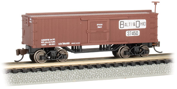 Baltimore & Ohio® - Old-Time Box Car (N Scale)