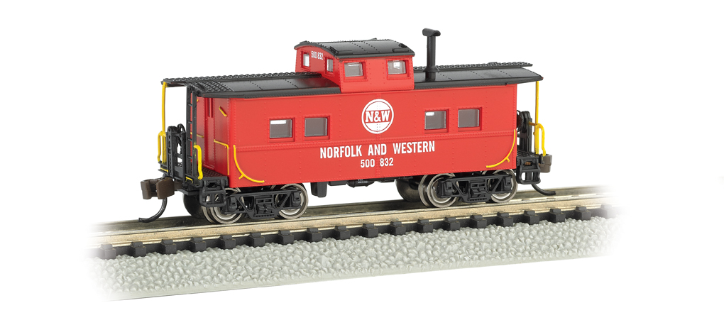 Norfolk & Western (Red) - NE Steel Caboose