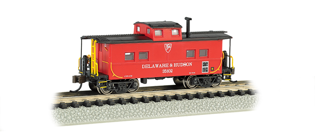 Delaware & Hudson - NE Steel Caboose - Click Image to Close