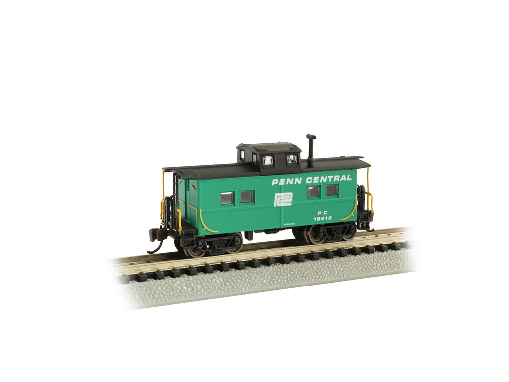 Penn Central - Jade Green - NE Steel Caboose