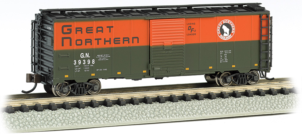 Great Northern - AAR 40' Steel Box Car