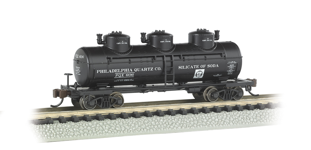 Philadelphia Quartz Co. - 3-Dome Tank Car