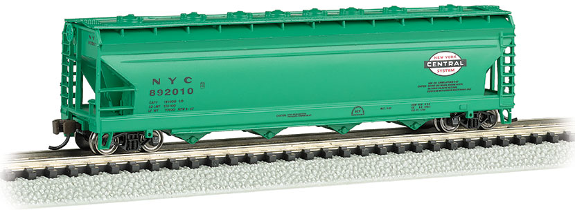 New York Central - ACF 56' 4-Bay Center Flow Hopper