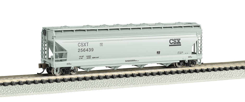 CSX® - ACF 56' 4-Bay Center Flow Hopper