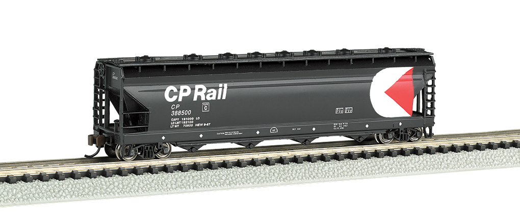CP Rail - ACF 56' 4-Bay Center Flow Hopper