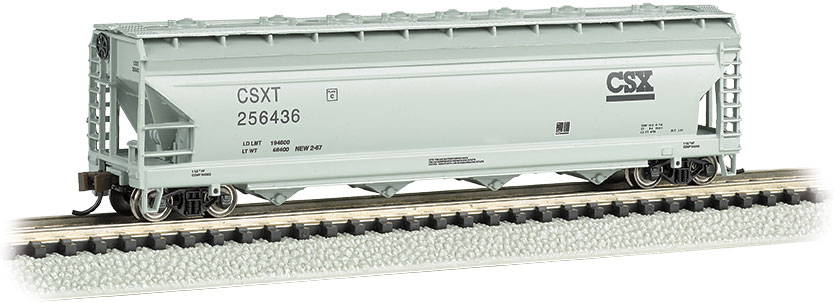 CSX® #256436 - ACF 56' 4-Bay Center Flow Hopper