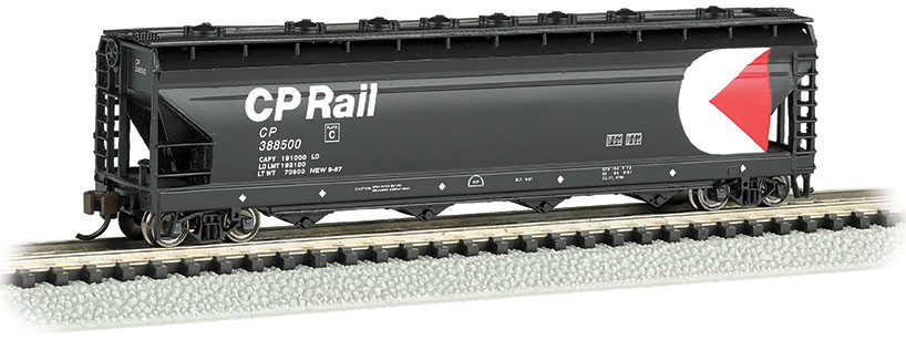 CP Rail #892056 - ACF 56' 4-Bay Center Flow Hopper