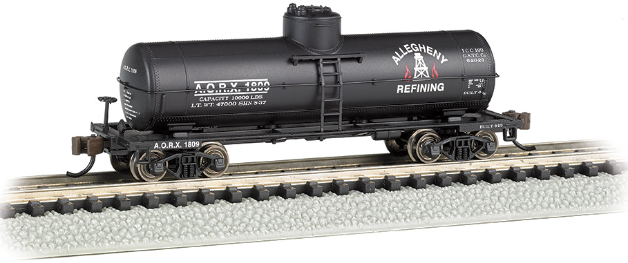 Allegheny Refining - ACF 36.5' 10,000 Gallon 1-Dome Tank Car