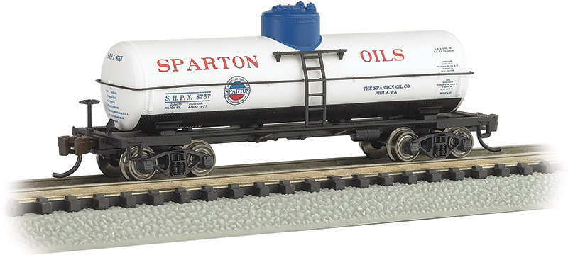 Sparton Oil #8757 - ACF 36.5' 10,000 Gallon Single-Dome Tank Car