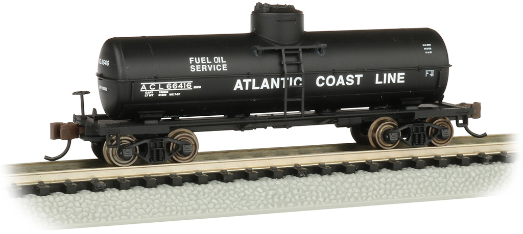 Atlantic Coast Line - ACF 36.5' 10K Gal 1-Dome Tank Car